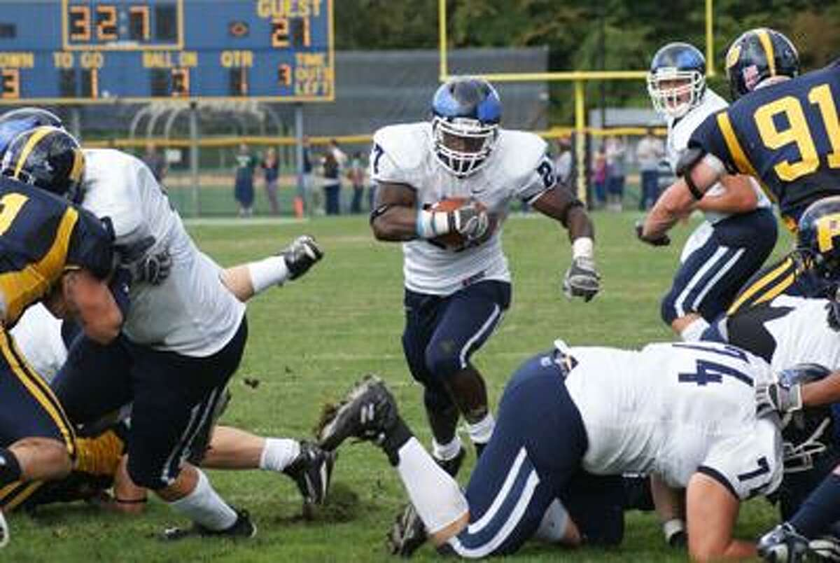 Southern Connecticut State running back Rashaad Slowley. (Contributed photo)