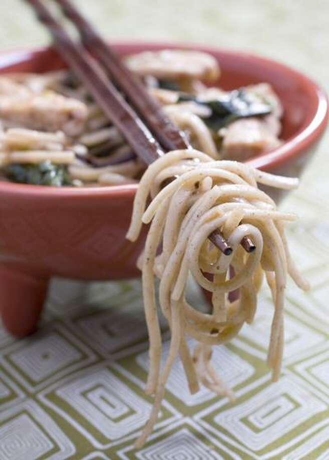 Larry Crowe/Associated Press photo, Soba Noodle Stir-Fry Photo: AP / FR41490 AP