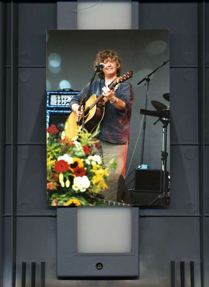 Contributed photo: Cheryl Wheeler headlines this year's free Connecticut Folk Festival and Green Expo Saturday at Edgerton Park, 75 Cliff St., New Haven.