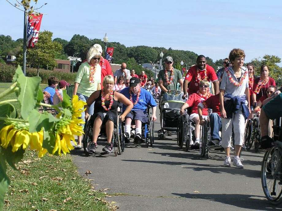 Center for Disability Rights photo: Wheel-A-Thon goes from 9 a.m. to 1 p.m. Sunday along the West Haven shoreline.