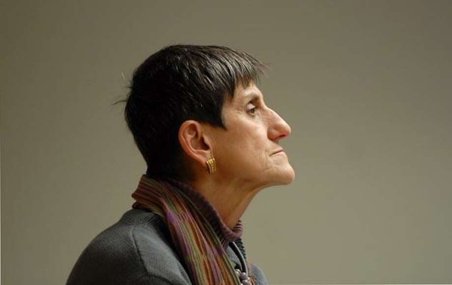 Congresswoman Rosa DeLauro pauses for a moment during a visit to the Jepsen Senior Center 1/10/11 as she discusses Affordable Care and Patient Protection Act with seniors at the senior center. Photo by Peter Hvizdak / New Haven Register  00/00/00       ph               #     Connecticut