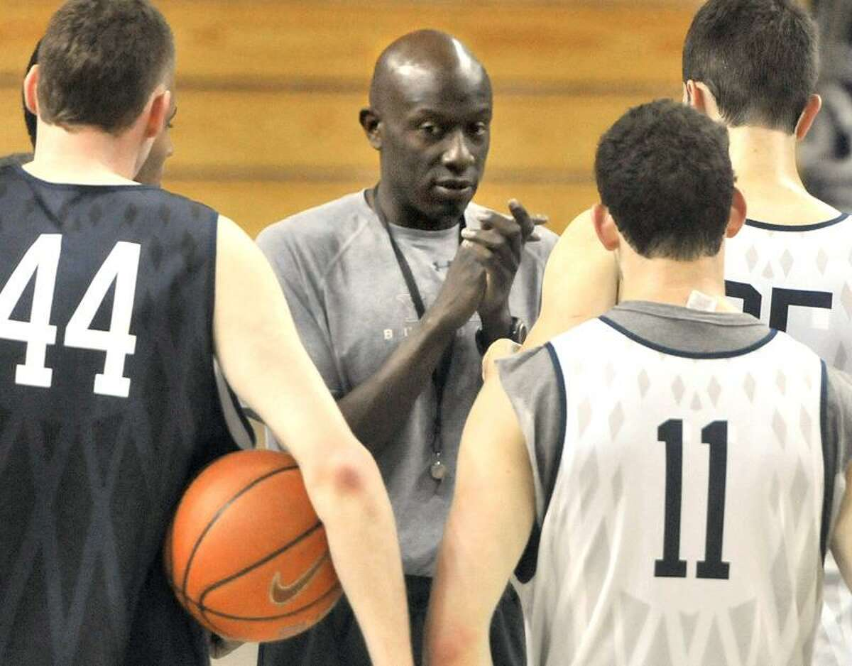 Yale men's basketball coach James Jones is taking the team to China on a nine-day trip. Photo by Brad Horrigan/New Haven Register