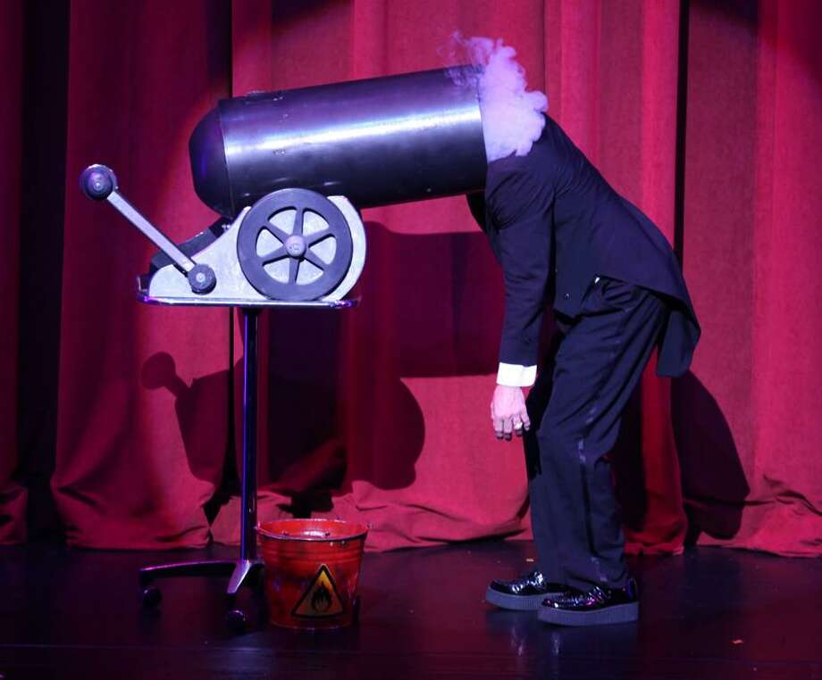 """Karl Handler photo: Don't try this at home, but it's part of """"Masters of Illusion."""""""