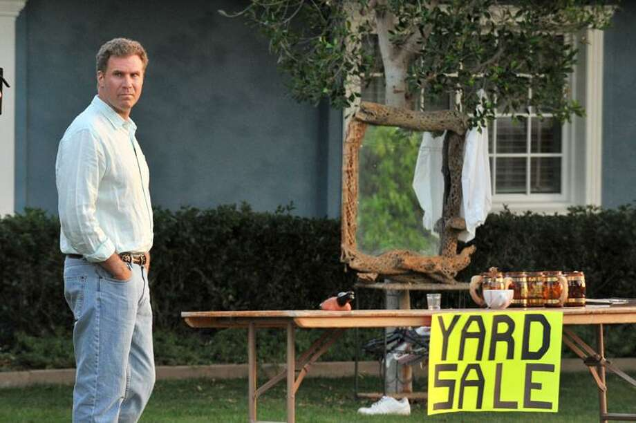 """Roadside Attractions: Will Ferrell considers his options in this scene from """"Everything Must Go."""" Photo: AP / AP2010"""