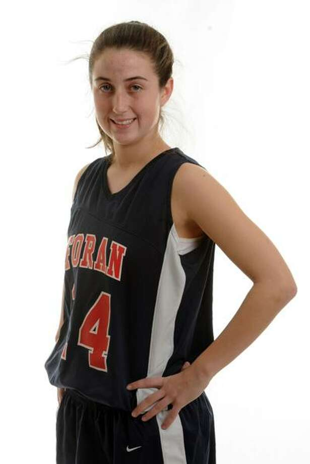 Taylor Jagoe of Foran, athlete of the week. Photo by Mara Lavitt/New Haven Register1/10/11