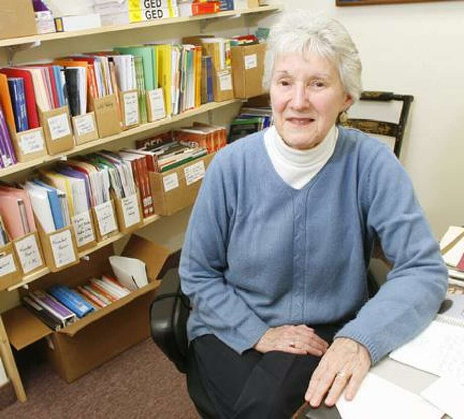 Dispatch Staff Photo by JOHN HAEGER (Twitter.com/OneidaPhoto)Madison County Reads Ahead literacy coordinator Patricia Graham poses in her office at the Oneida Public Library on Thursday, Oct. 20, 2011. Graham takes over the post from Morris Atwood, who is retiring.