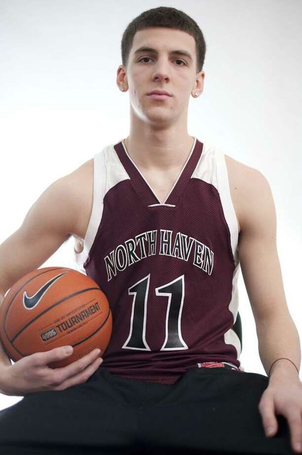 MALE ATHLETE OF THE WEEK: Billy McDonald, North Haven, basketball. Photo by vmWilliams
