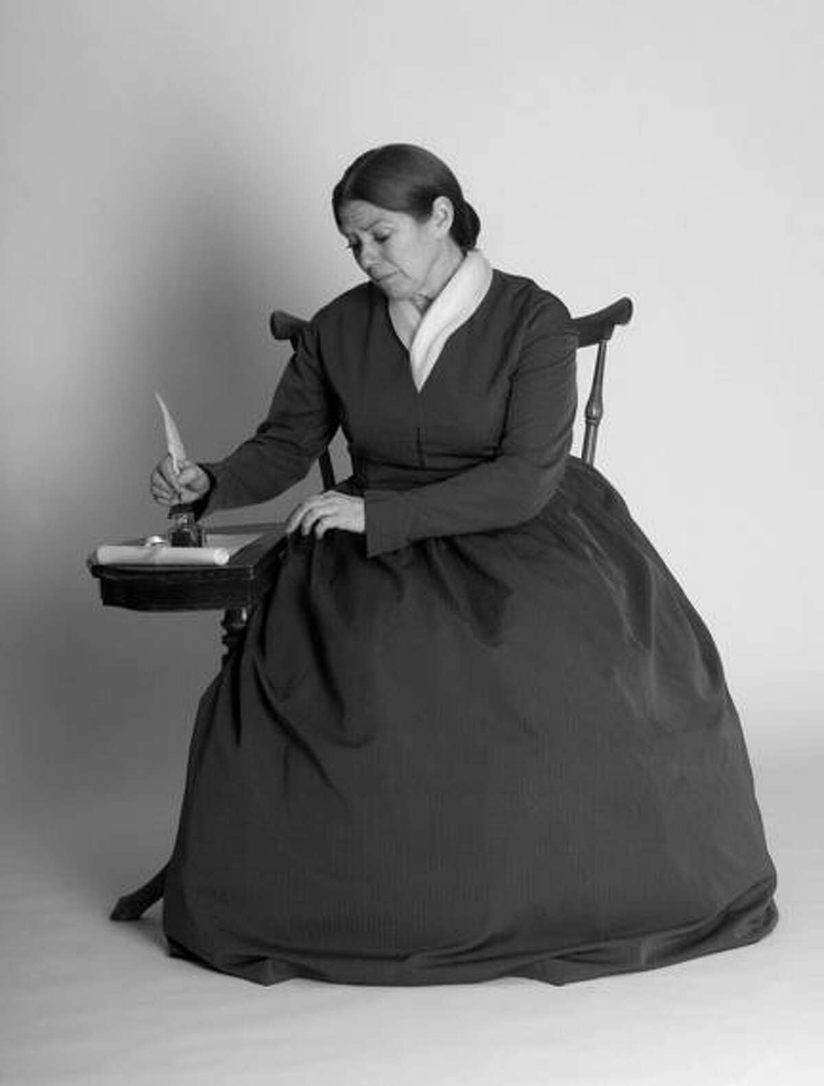 """Submitted Photo Lynne McKenney Lydick will bring Abby Kelley Foster to life through """"Yours for Humanity -- Abby,"""" a one woman play written by members of the Worcester Women's History Project (WWHP) through support from the Massachusetts Foundation for the Humanities."""