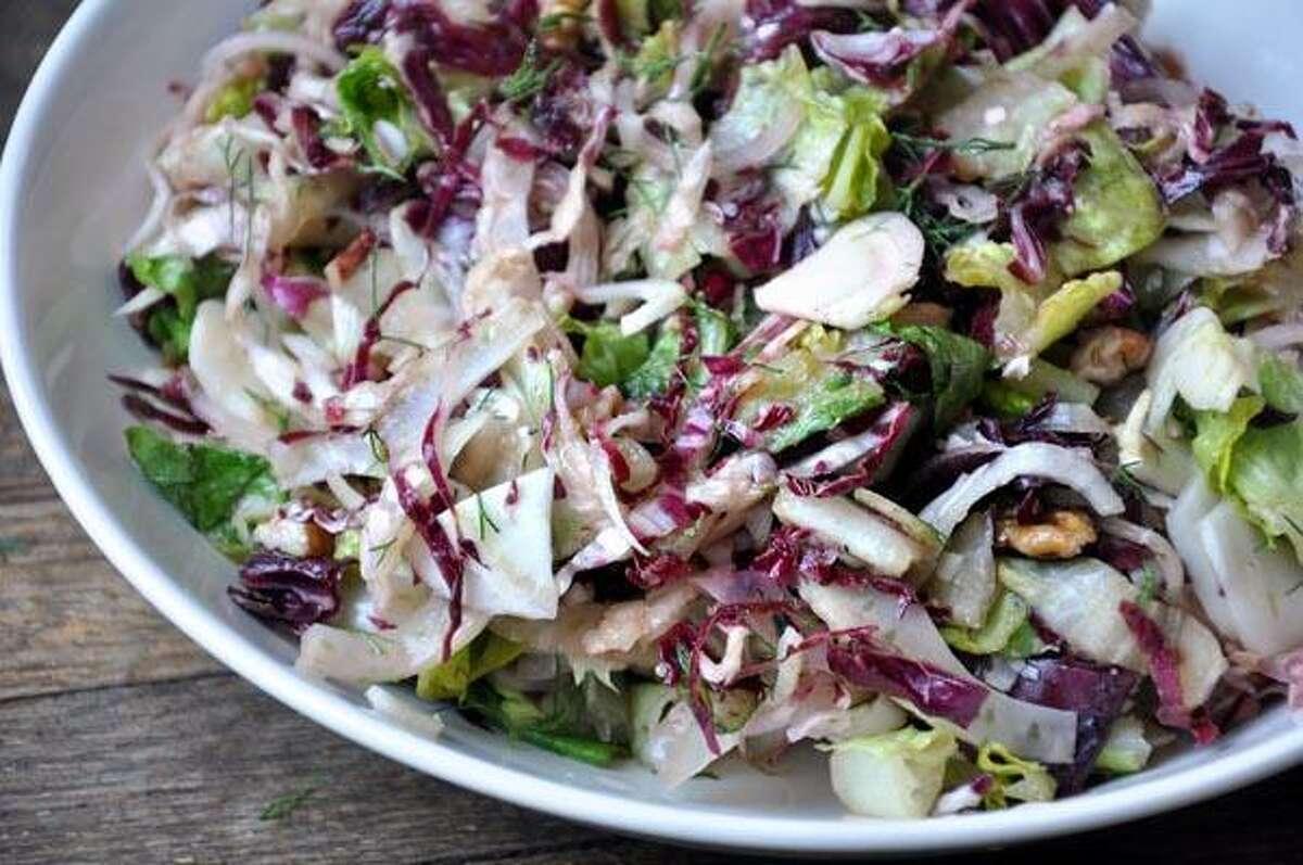 Faith Durand, Fennel and Radicchio Winter Salad With Pecans