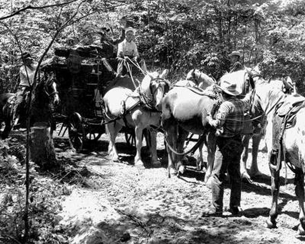 The stagecoach got held up every day at Cowboy Valley.