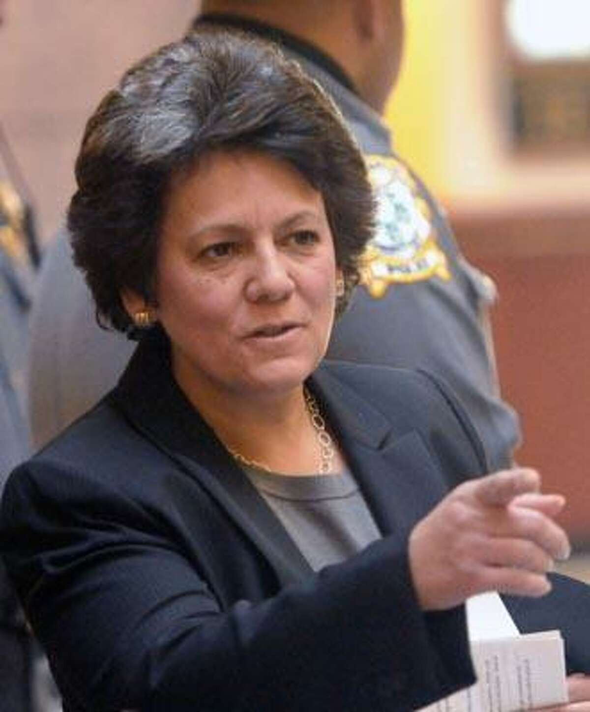Hartford--Jeannette DeJesus has been appointed the Deputy Commissioner of the Department of Public Health. Photo by Brad Horrigan/New Haven Register-01.03.11.