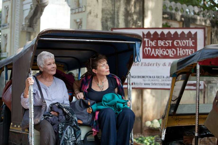 "Ishika Mohan/Fox Searchlight Films photo: Judi Dench, left, and Celia Imrie have signed on for the adventure known as ""The Best Exotic Marigold Hotel."" Photo: AP / TM and © 2010 Twentieth Century Fox Film Corporation. All rights reserved. Not for sale or duplication."