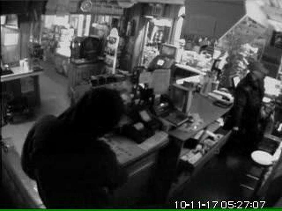 Milford police released this photo of a Nov. 17 burglary