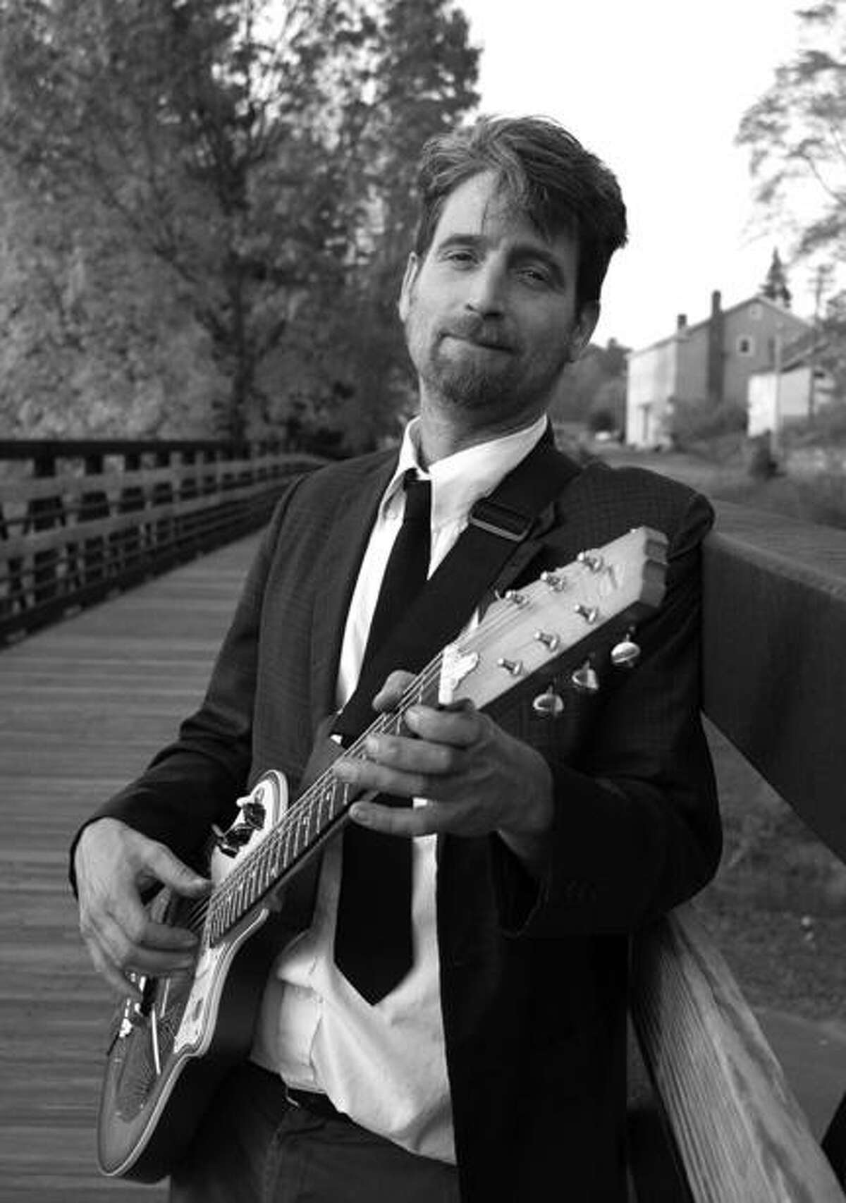 Photo courtesy Madison-Cortland ARCArcStock headliner Jeremy Wallace, of the Jeremy Wallace Trio, a New Jersey-based blues-rock musician.