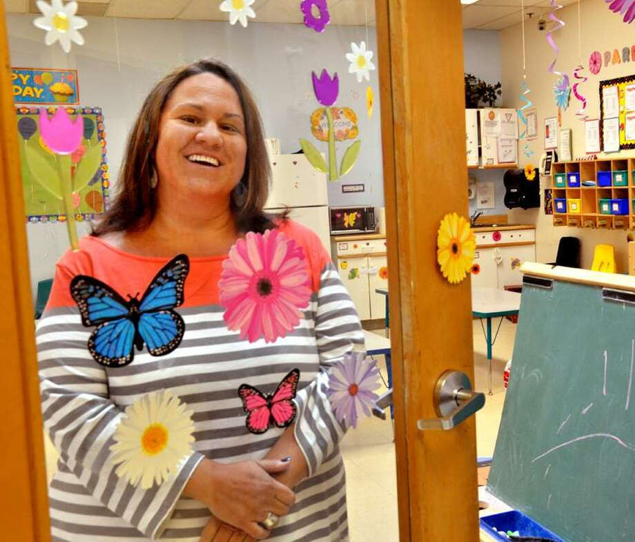 Branford--Kelly Barbaretta, a former employee of Branford's Precious Cargo, is opening her own daycare company in the now vacant spot.   Melanie Stengel/Register