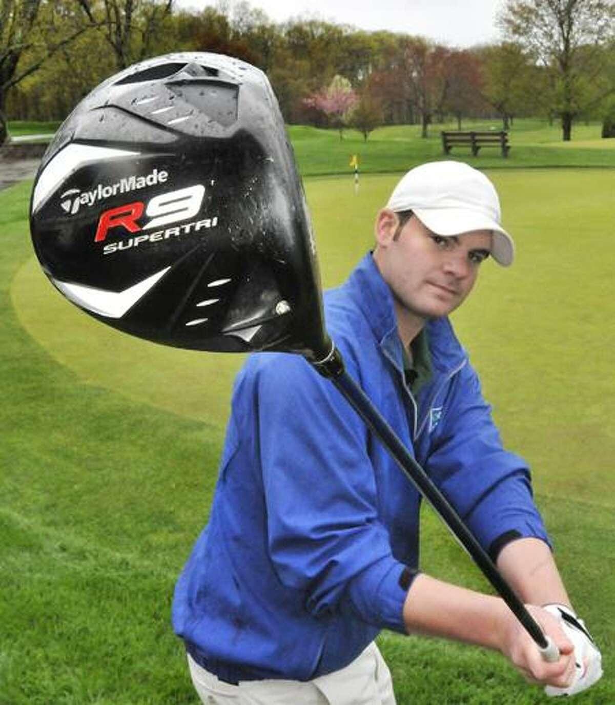 Notre Dame golf captain Brian Engstrom is part of the Register's Team of the Week. Melanie Stengel/Register