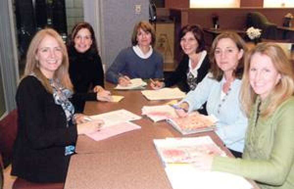 SUBMITTED PHOTO From left are Joanne Ernenwein, director of Oneida Healthcare Development; Suzette McKay, Fashion Show committee member; Paula Palmer, chair of the Fashion Show committee; Ann Marie Costello, Fashion Show committee member; Pam Musacchio, Fashion Show committee member and Maris Skinner; Fashion Show committee member.
