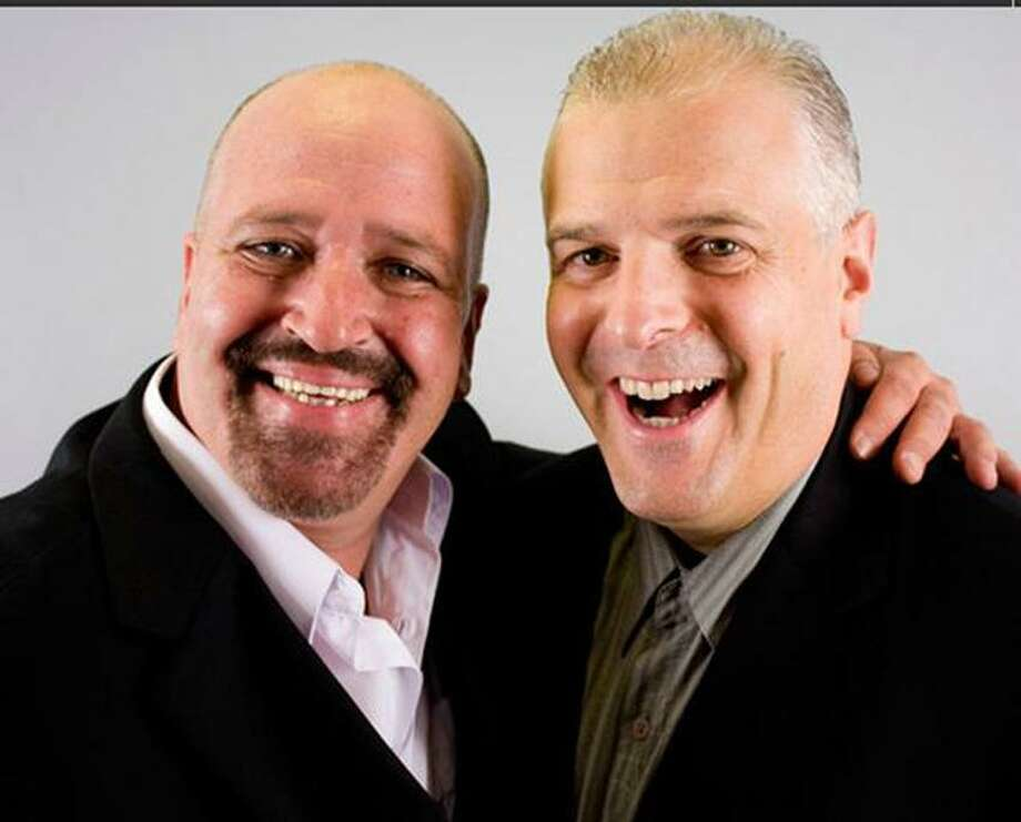 Contributed photo: Comedy team of Valles & Boroes will perform Saturday at the Director's Cut at the Ramada Inn in Stratford. Show starts at 8 p.m.
