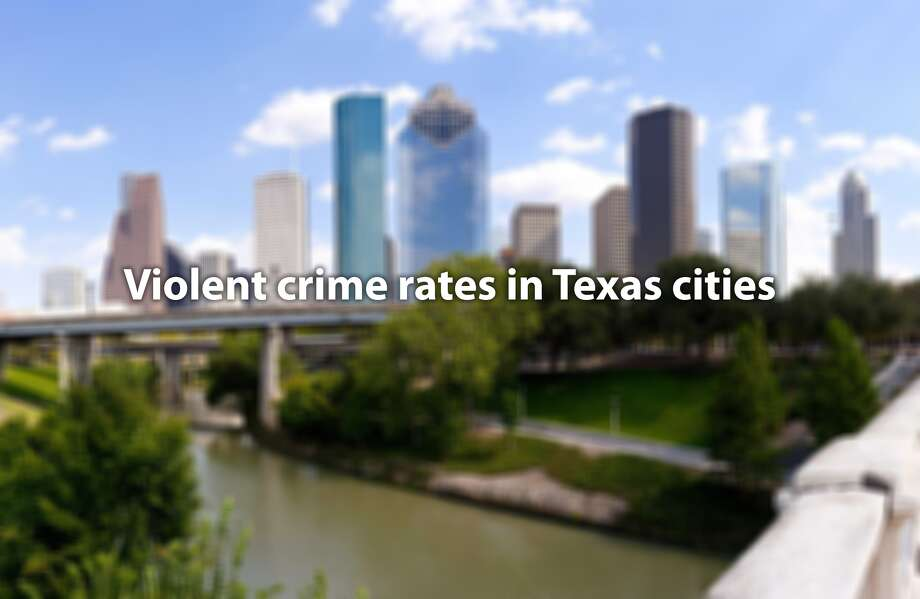 See which Texas cities have the most violent crime