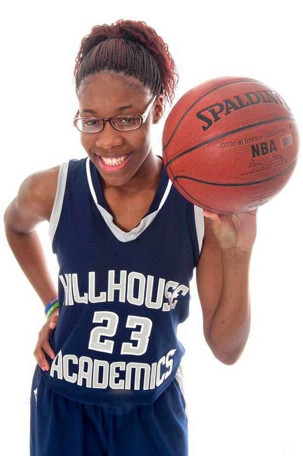 2011-12 State Player of the Year, Bria Holmes, Hillhouse.