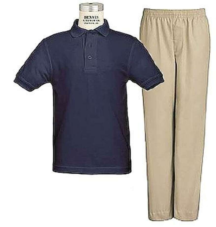 Schoolkids in West Haven could be wearing a uniform like this