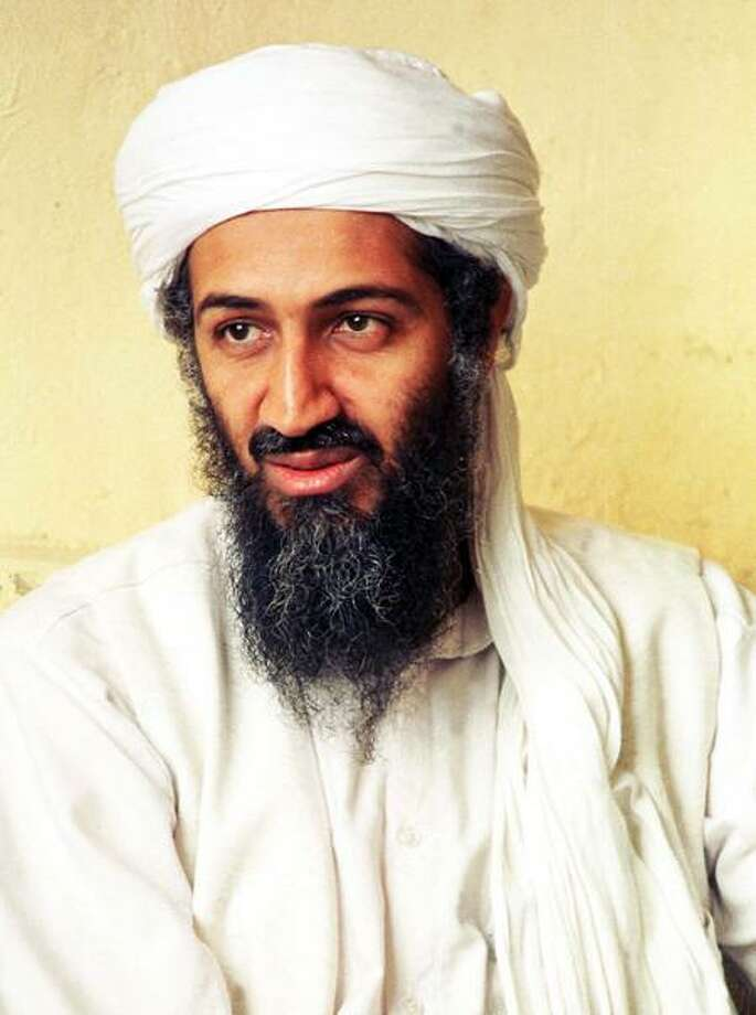 Saudi dissident Osama bin Laden in an undated photo. (Photo by Getty Images) Photo: Getty Images / (©) Copyright 2001 by Getty Images