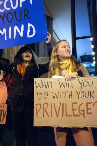 Morgan Stanley recruiters draw Yale student protest in New Haven