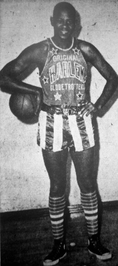Dave Hicks as a member of the Harlem Globetrotters. (Submitted photo)