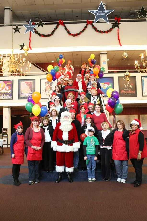 Shubert Theater photo: Last year, lots of kids had fun with Santa at the Shubert.