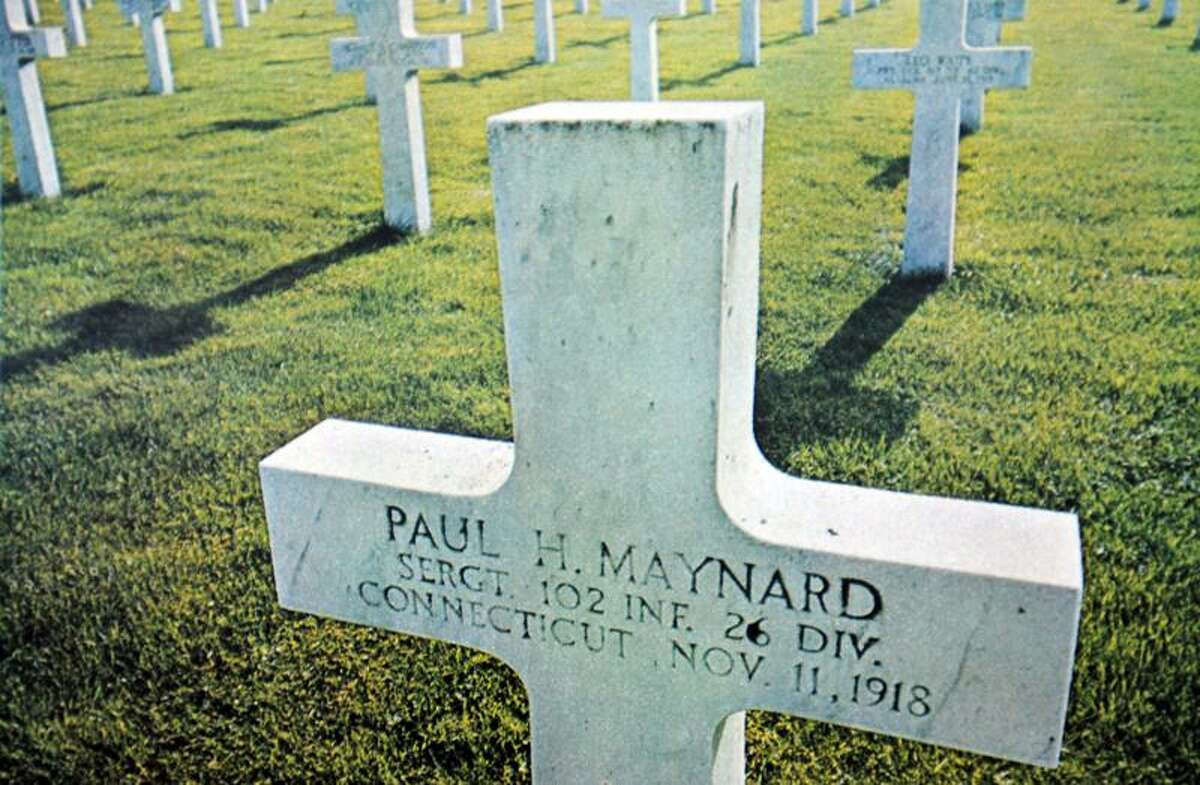 In this photo from the August 11, 1964, issue of LOOK Magazine, Rick Maynard discovered his great-uncle's gravestone had been included in a story about WWI. Peter Casolino/Register