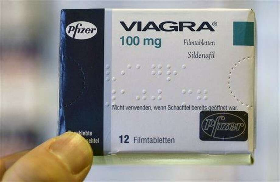 A package of Viagra is pictured on April 9, 2008 in Hamburg, Germany. (AP Photo/Fabian Bimmer) Photo: AP / 2008 AP