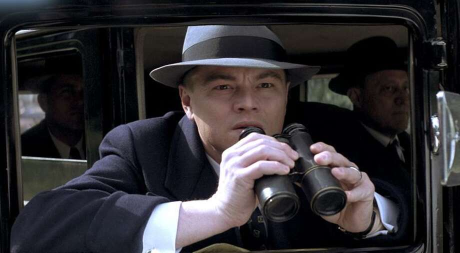 Warner Bros. Pictures: For one thing, Leonardo DiCaprio is too tall to portray J. Edgar Hoover. Photo: AP / ©2011 Warner Bros. Entertainment Inc. - All Rights Reserved