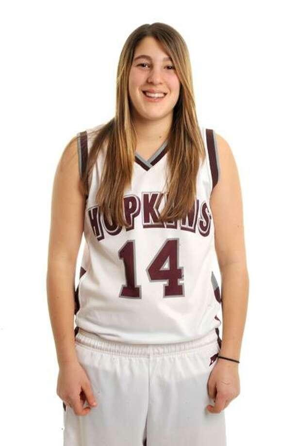 The Register's Female Athlete of the Week -- Ali Berman, Hopkins basketball. (VM Williams/Register)
