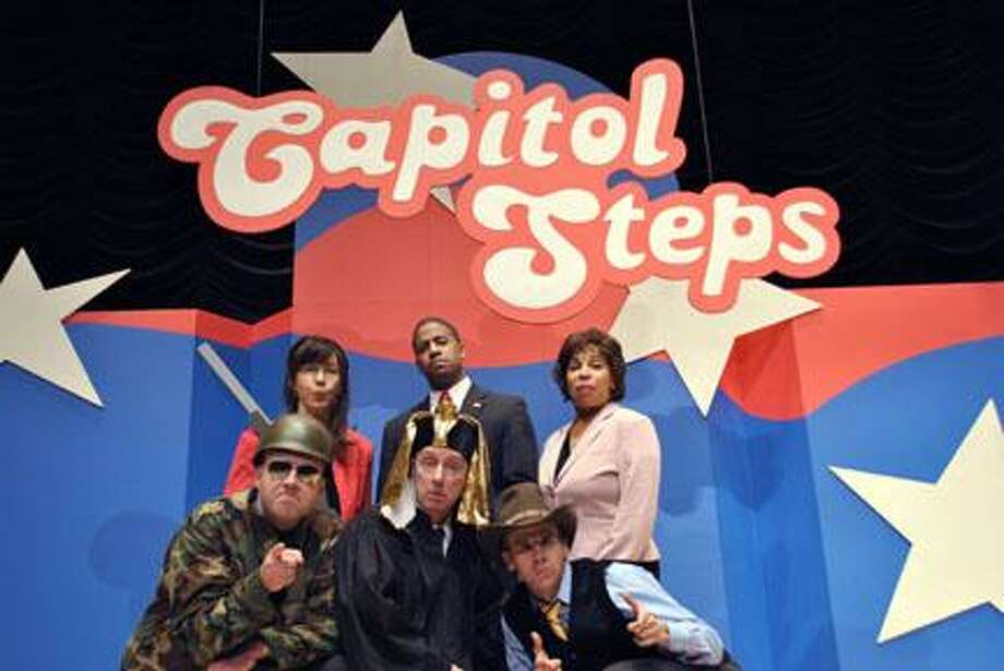 Submitted Photo The Capitol Steps will mock democracy at the Palace Theater in Hamilton on Nov. 19 at 8 p.m.
