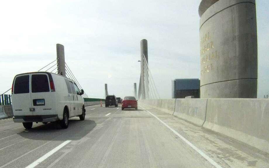Pearl Harbor Memorial Bridge opened to north bound I-95 traffic at 9:12am Saturday June 23,2012 .