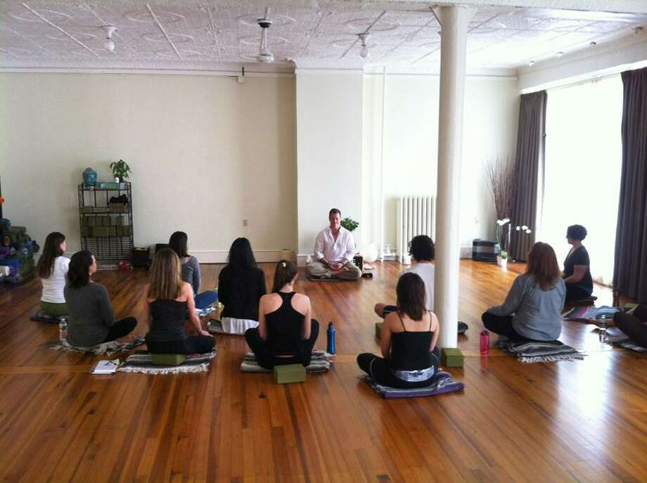 Contributed photo: Jeff Cannon will give meditation workshops monthly through November at Breathing Room Yoga, 817 Chapel St., in New Haven.