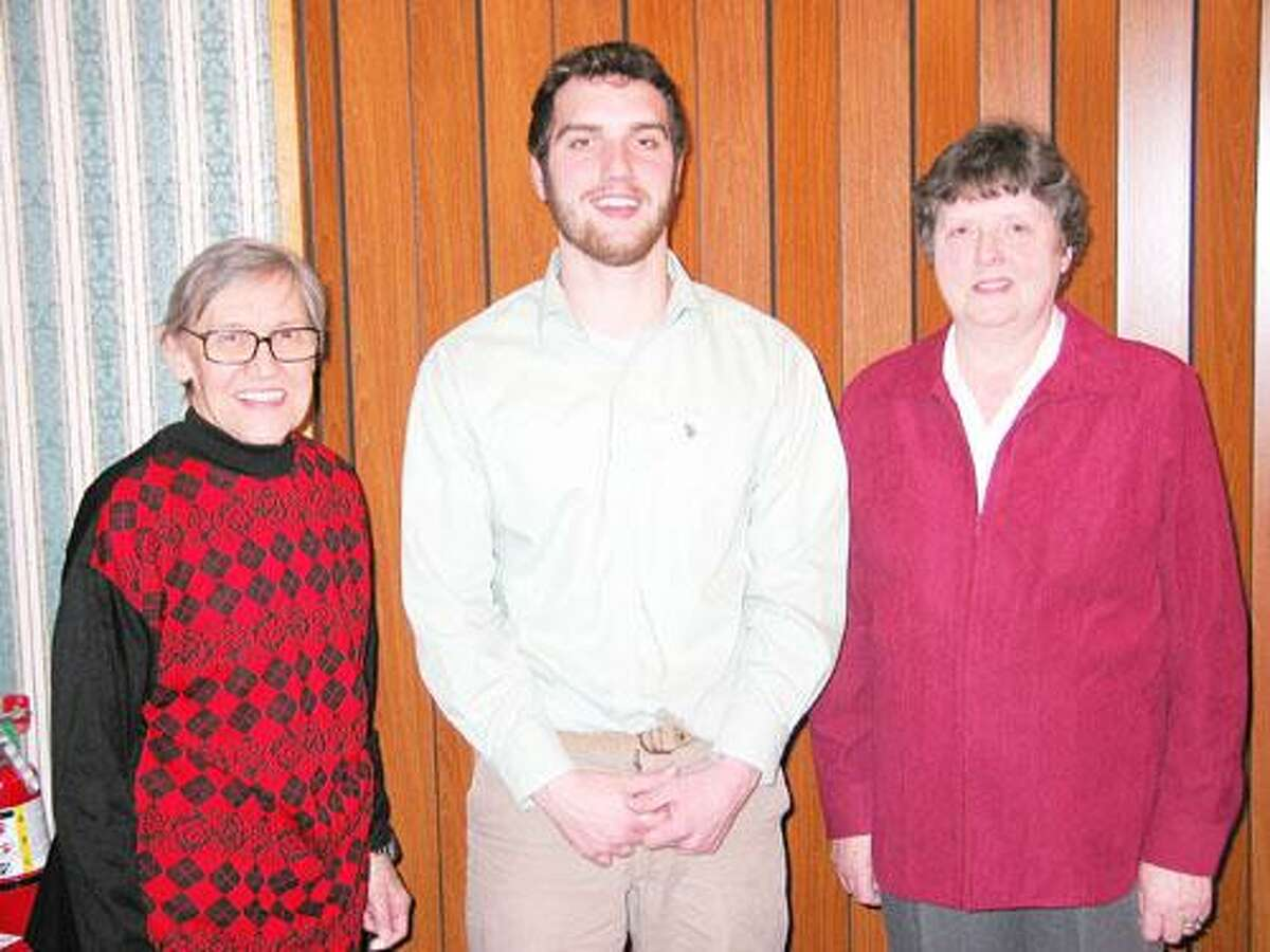 SUBMITTED PHOTO From left are Gwynne Bodle, David Dart and Jane Hicks.