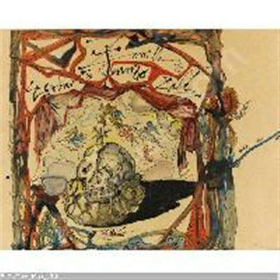 "This image provided by the New York Police Department shows a 1949 Salvador Dali painting, called ""Cartel des Don Juan Tenorio."" A man is suspected of stealing the $150,000 Salvador Dali painting from a Manhattan art gallery Thursday June 21, 2012. Police say the man walked into the Venus Over Manhattan art gallery on Madison Avenue posing as a customer and removed the watercolor and ink painting from the wall, put it in a bag, and fled. The 1949 painting, called ""Cartel des Don Juan Tenorio,"" was part of the gallery's inaugural exhibition. (AP Photo/New York Police Department) Photo: AP / New York Police"