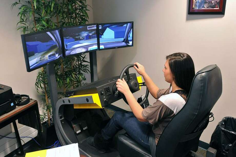 Seymour High School students test driving skills with