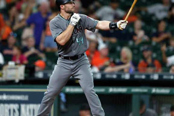 Paul Goldschmidt brought the majors' third-highest OBP (.434) and OPS (1.033) into Wednesday's game at Minute Maid Park.