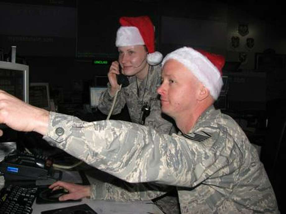 Photo Courtesy Eastern Air Defense Sector EADS' Sector Operations Control Center will monitor Santa's travels across the eastern U.S. on Christmas Eve.