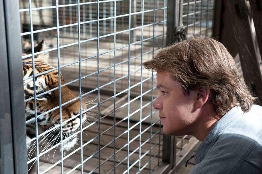 "Neal Preston/20th Century Fox photo: Matt Damon stars in Cameron Crowe's ""We Bought a Zoo."" Photo: AP / TM and © 2011 Twentieth Century Fox Film Corporation. All rights reserved. Not for sale or duplication."
