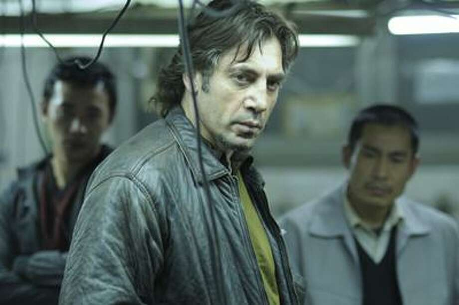 "Jose Haro/Roadside Attractions, Oscar nominee Javier Bardem, as Uxbal, in a scene from ""Biutiful,"" which was also nominated for an Academy Award for best foreign film. Photo: AP / AP2008"