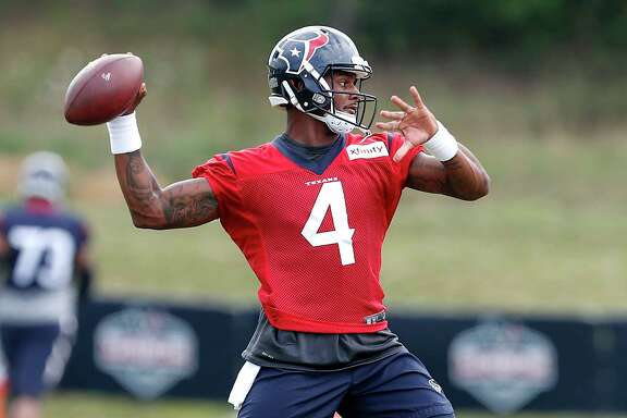 Texans rookie quarterback Deshaun Watson was pleased with how a pair of practices with the Patriots went this week, highlighted by a chance to study and talk to Tom Brady.