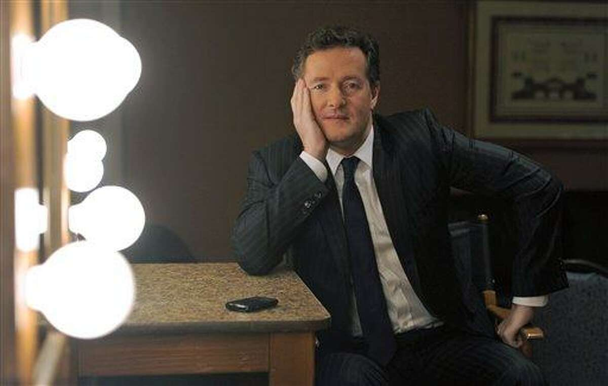 This Jan. 6, 2011, file photo shows Piers Morgan, host of CNN's