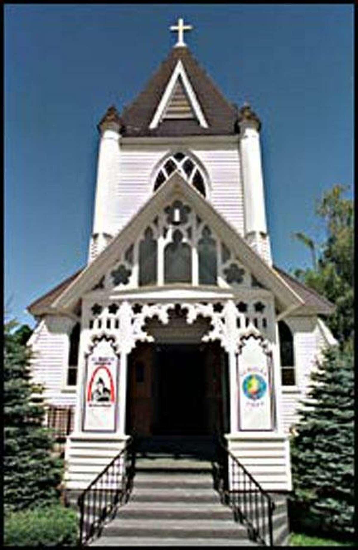 St. Mary's Church in Jamesville