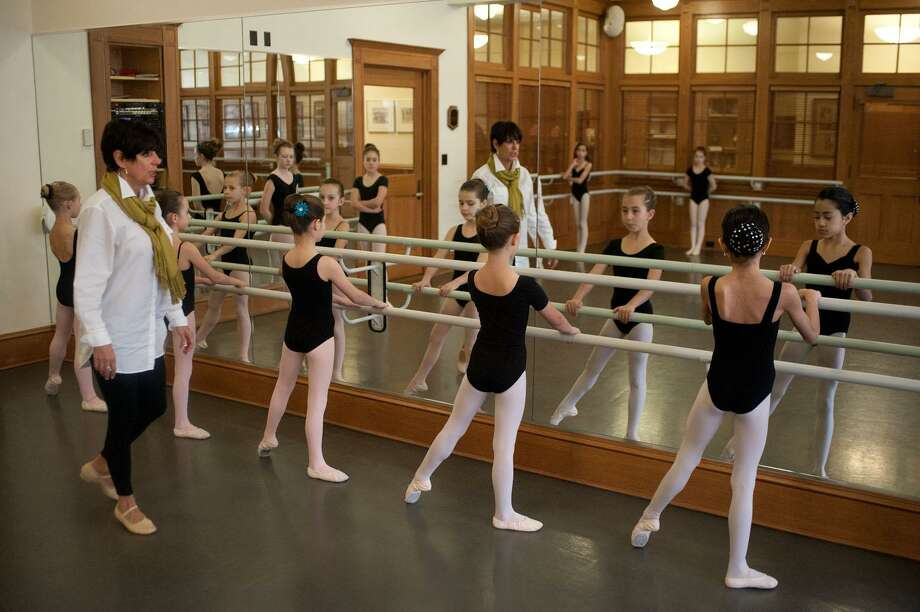 Submitted photo Susan Szabo leads a class of students from the Torrington School of Ballet. / © DON PERDUE