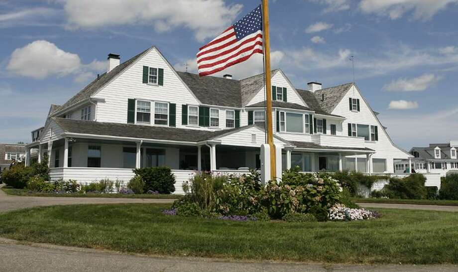 The main home in the Kennedy family compound in Hyannis Port, Mass., has been mostly unused since Sen. Edward Kennedy died two years ago. The Kennedys will gather there today for the wedding of former Rhode Island Rep. Patrick Kennedy. Associated Press file photo Photo: AP / FR56276 AP