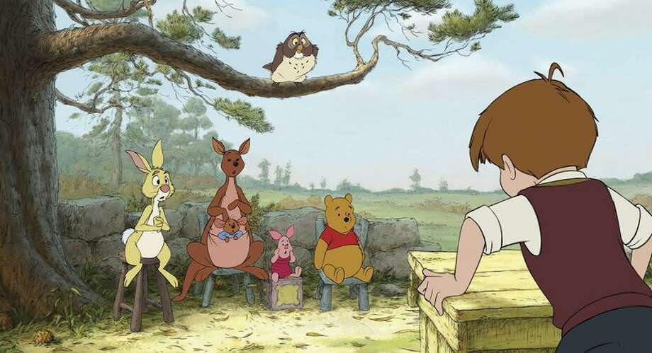 """Walt Disney Co. photo: While they upped the pace of """"Pooh"""" for today's audience, filmmakers say they remained true to the A.A. Milne characters. Photo: AP / ©Disney Enterprises, Inc. All rights reserved."""