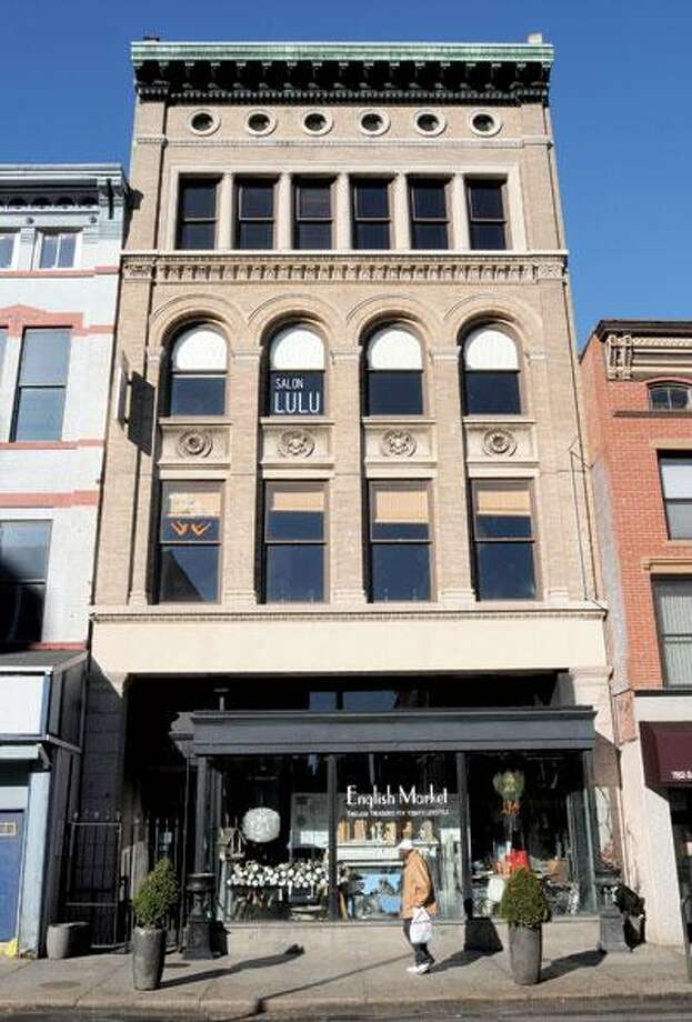 The building at 839 Chapel St. is known historically as The English Building. (Mara Lavitt/Register)